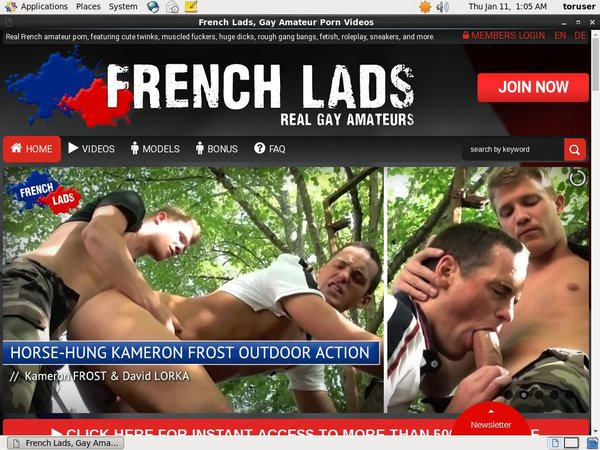 French Lads Porn Accounts