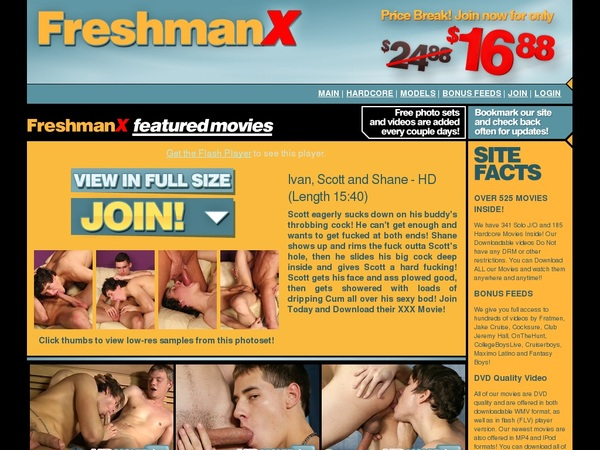 Freshmanx Join Page
