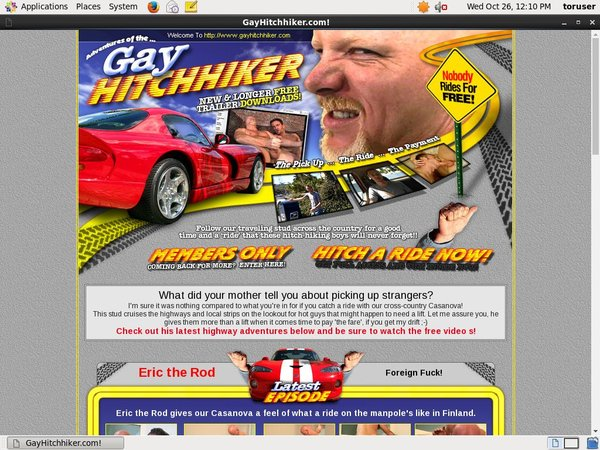 Gayhitchhiker Discount Free