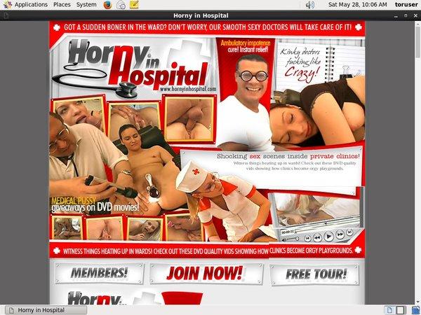 Horny In Hospital Watch