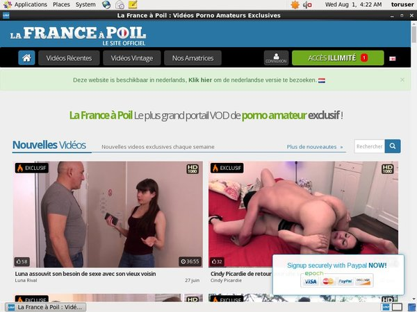 Lafranceapoil On Sale