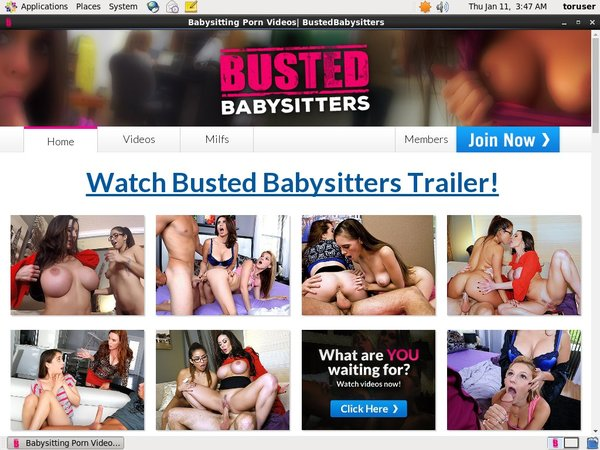 New Busted Babysitters Discount Promo