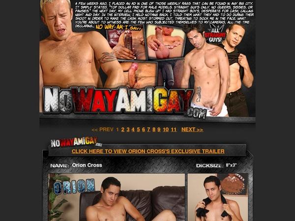Nowayamigay.com Signup Discount