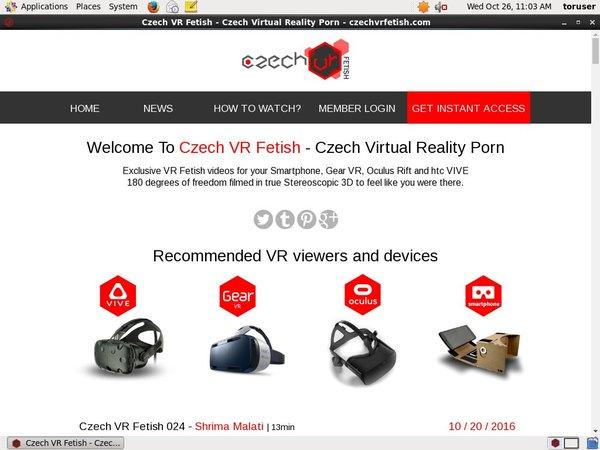 Premium Czech VR Fetish Pass