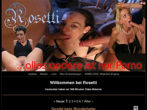 Rosetti Paypal Purchase