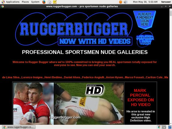 Ruggerbugger One Time Discount