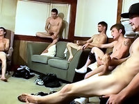 Straight Naked Thugs self sucking