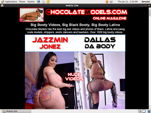 Chocolate Models Discounted Deal