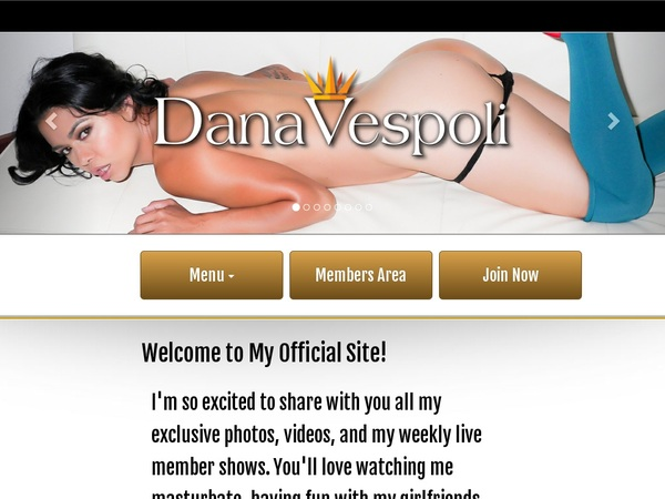 Dana Vespoli Limited Offer