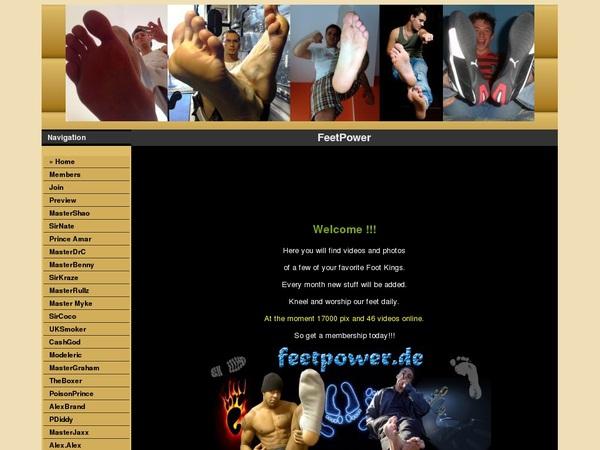 Discount Offer Feet Power
