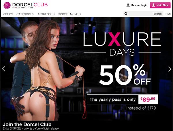 Dorcelclub.com Free Trial Password