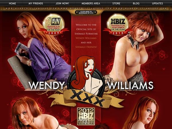 Free Wendywilliamsxxx.com Membership