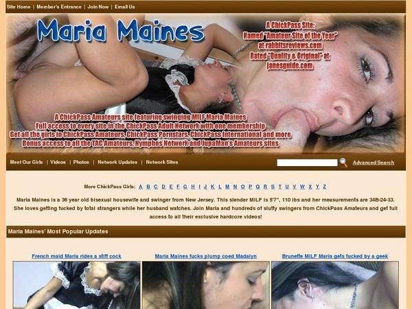 Maria Maines Discount Order