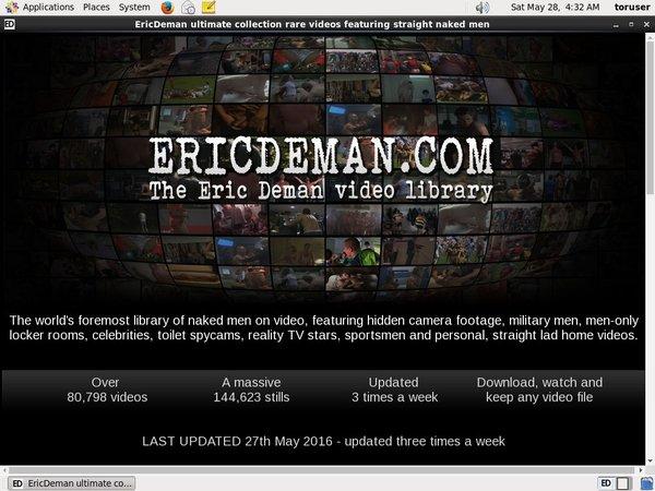 Ericdeman Epoch Page