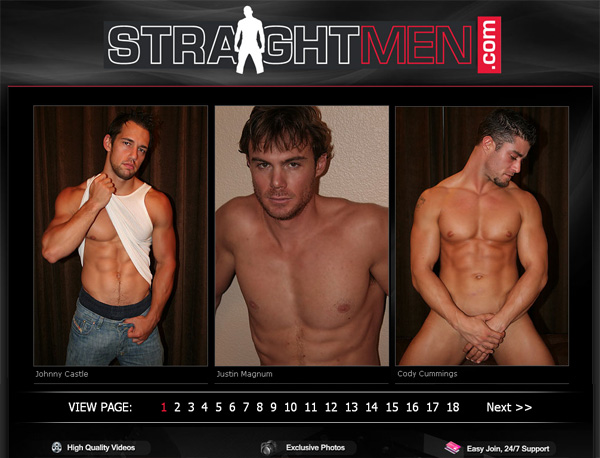Straight Men Free Accounts