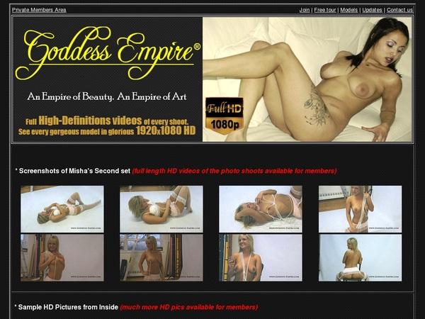 Free Account In Goddessempire