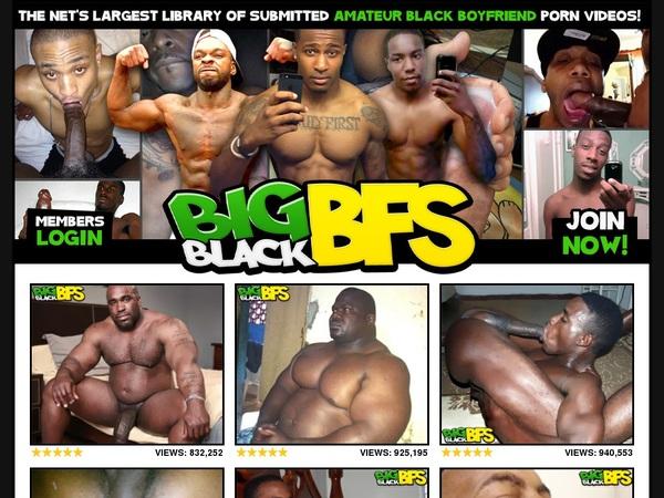Discount Big Black BFs Trial Membership