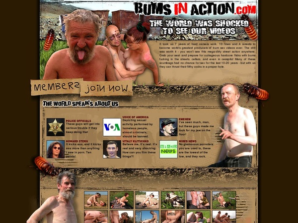 Discount Bumsinaction Account