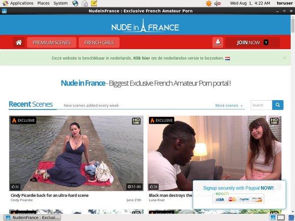 Free Nude In France Membership Discount