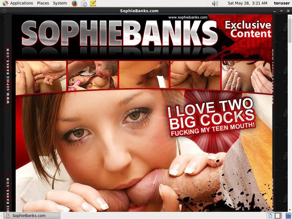 Sophie Banks Coupon