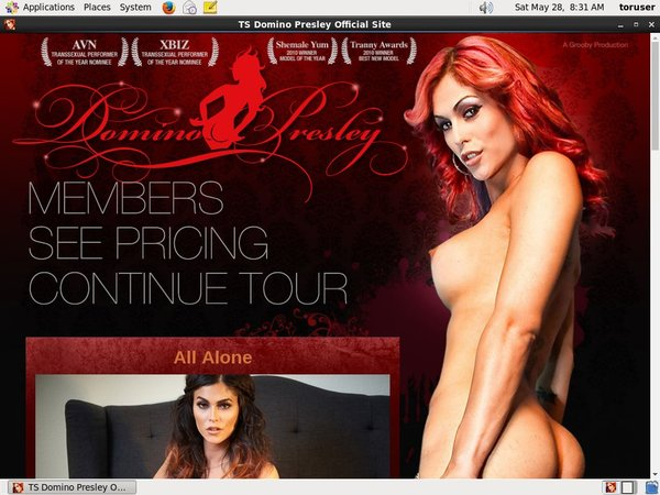TS Domino Presley Working Account