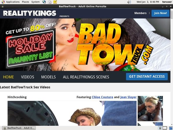 Bad Tow Truck Limited Promo