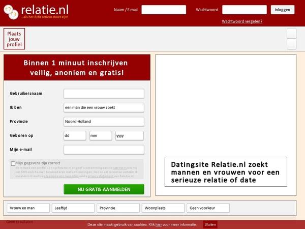 Free Accounts For Relatie.nl