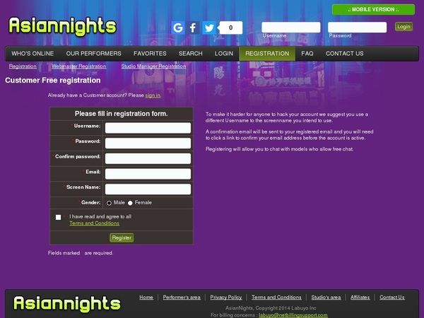Free Porn Asian Nights