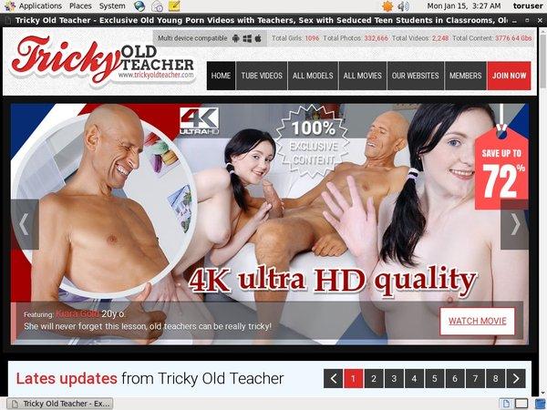 Tricky Old Teacher Shop