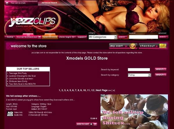 XmodelsGoldStore Trial Membership $1