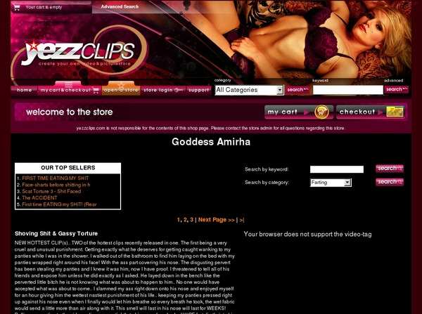 Yezzclips.com Update
