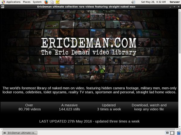 Ericdeman.com Accounts Passwords