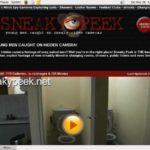 Sneaky Peek Password Login