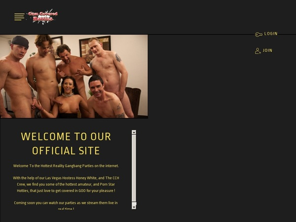 CumCoveredHotties Free Trial Discount
