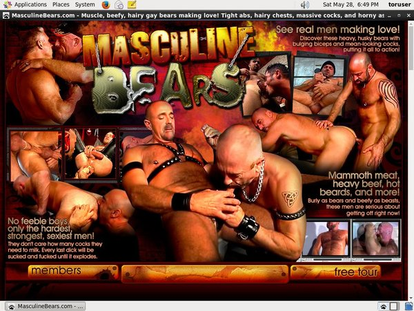 Masculinebears.com Free Trial