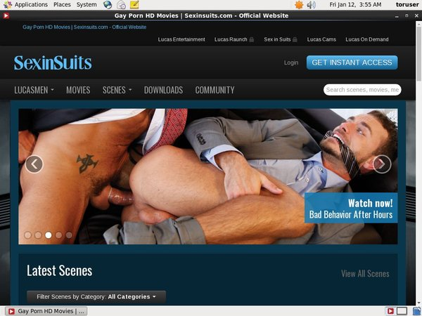 Sex In Suits Free Trial Promotion