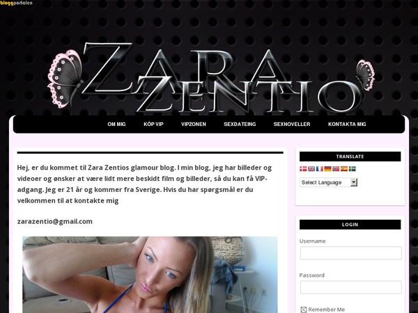 Zara Zentio Passwords Accounts
