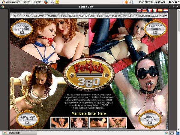 Free Account Premium Fetish 360
