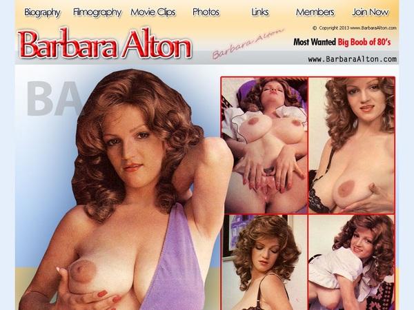 Free Porn Barbara Alton