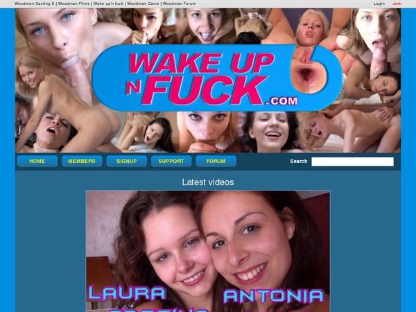 Get Wakeupnfuck Discount Membership