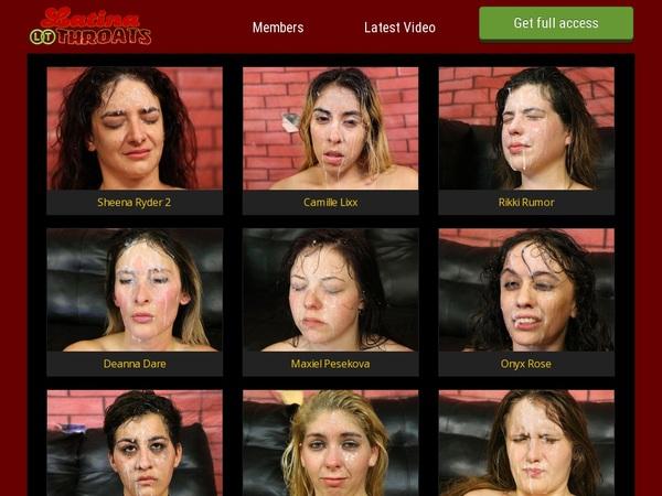Latinathroats Trial