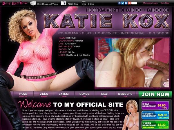 Special Katie Kox Discount