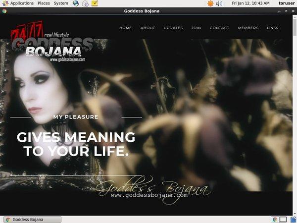 Goddess Bojana Picture
